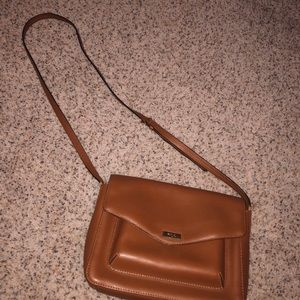 ralph lauren tan cross shoulder bag